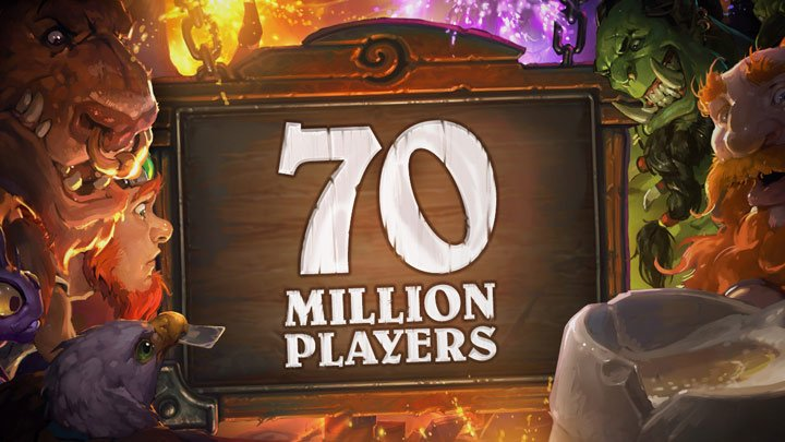 Hearthstone celebrates 70M players