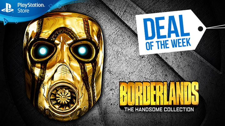 PlayStation Store sale - Borderlands The Handsome Collection