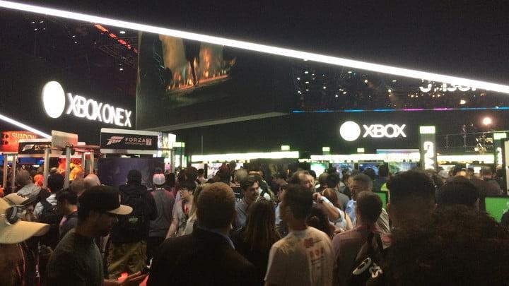 E3 2017 crowds