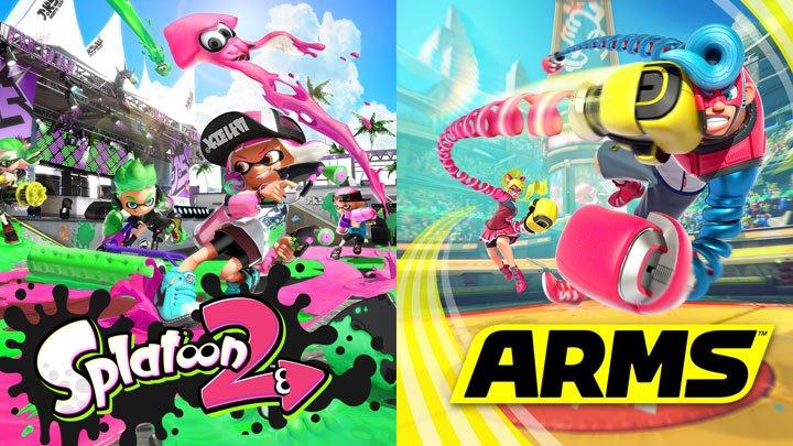 Nintendo - Splatoon 2 and Arms E3 tournaments