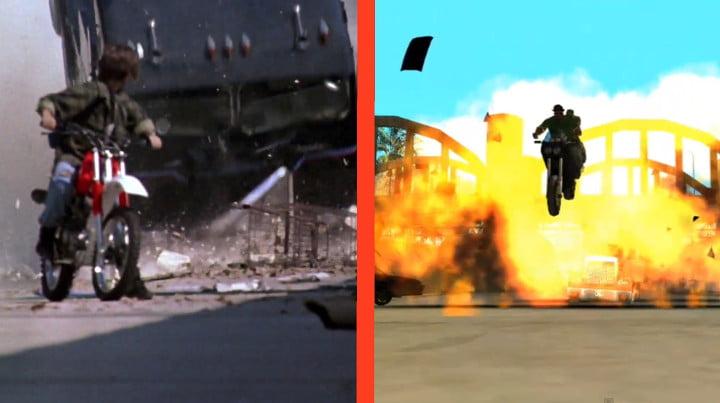 Cut scenes: GTA San Andreas vs. Terminator 2