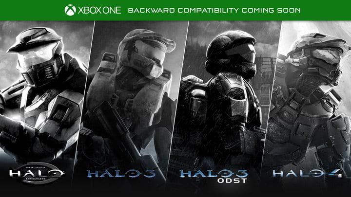 Halo - Xbox Onebackward compatibility