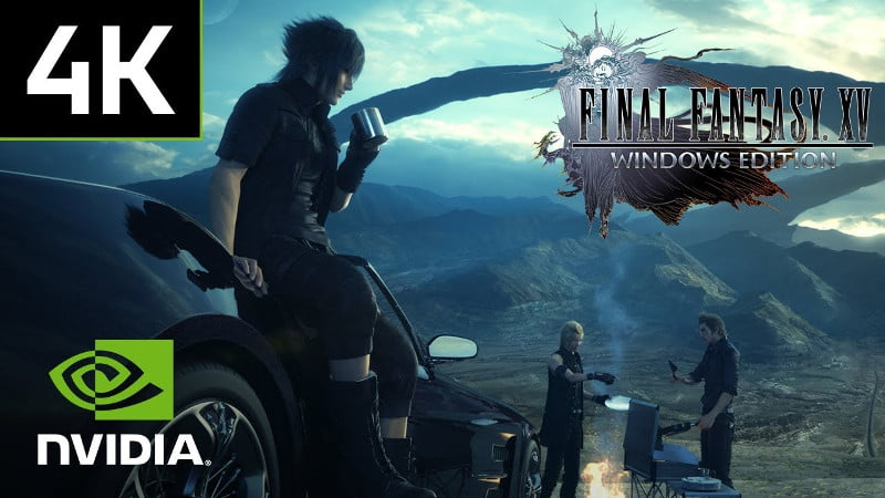 Final Fantasy XV PC 4K gameplay trailer