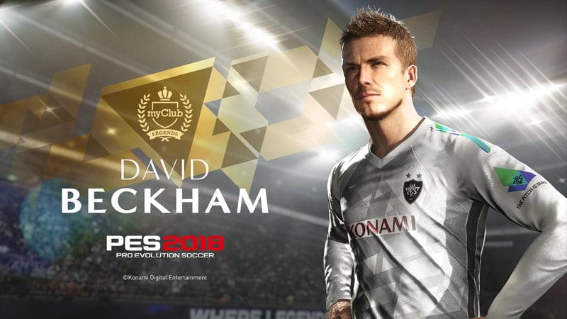 PES 2018 - David Beckham