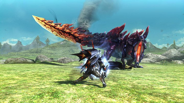 Monster Hunter XX Switch demo