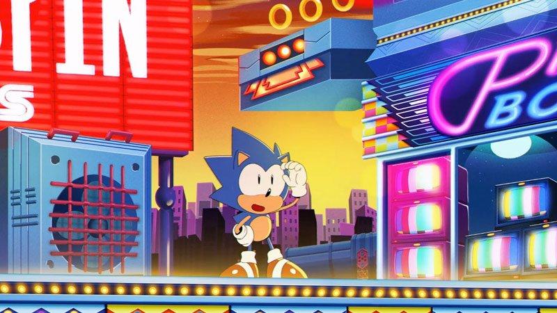 Sonic Mania - intro