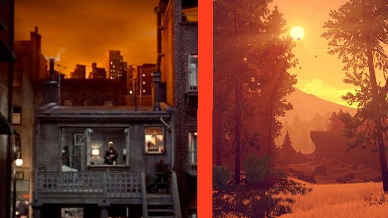 Cut Scenes: Firewatch vs. Rear Window