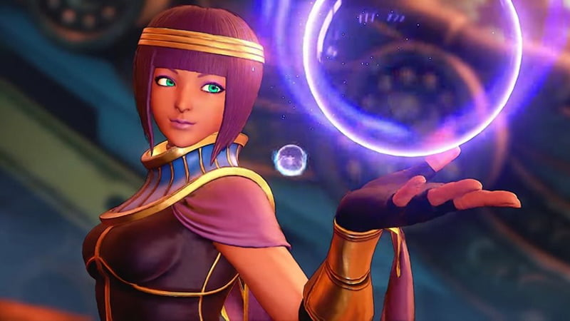 Street Fighter V - Menat