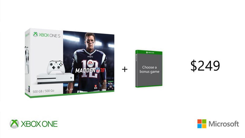 Xbox One S promotion