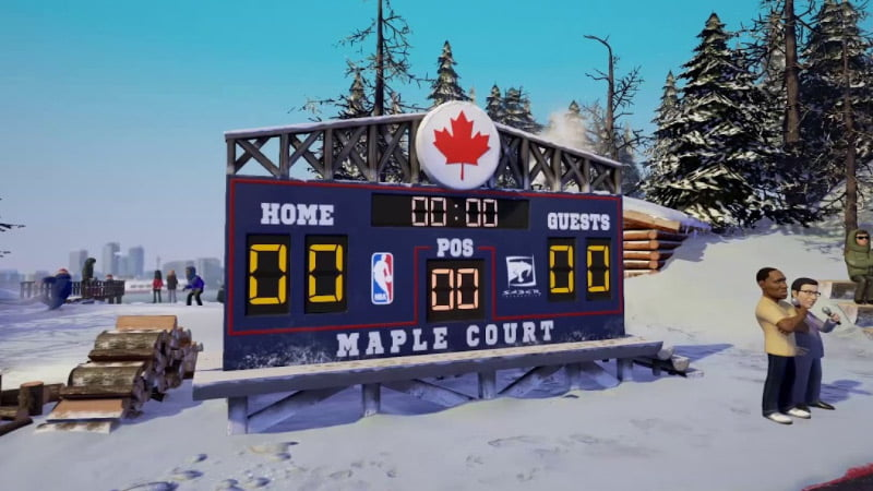 NBA Playgrounds Hot N' Frosty DLC
