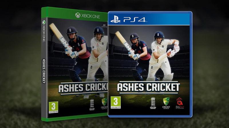 Ashes Cricket box art