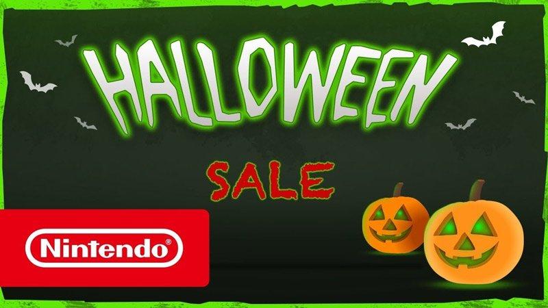Nintendo eShop Halloween sale
