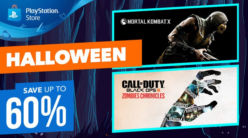 PlayStation Store Halloween Sale