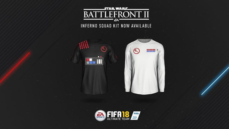 FIFA 18 Star Wars kit