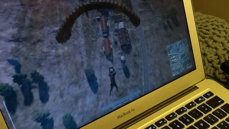 I've been playing PUBG on a Mac (no, really) - Thumbsticks