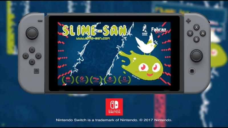 Slime-san Nintendo Switch demo