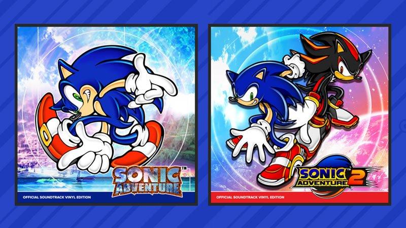Sonic Adventure - vinyl soundtrack