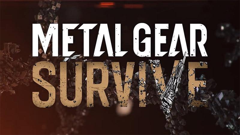 Metal Gear Survive logo