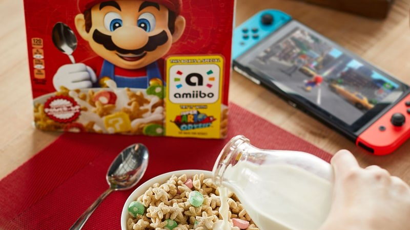 Super Mario Amiibo Cereal