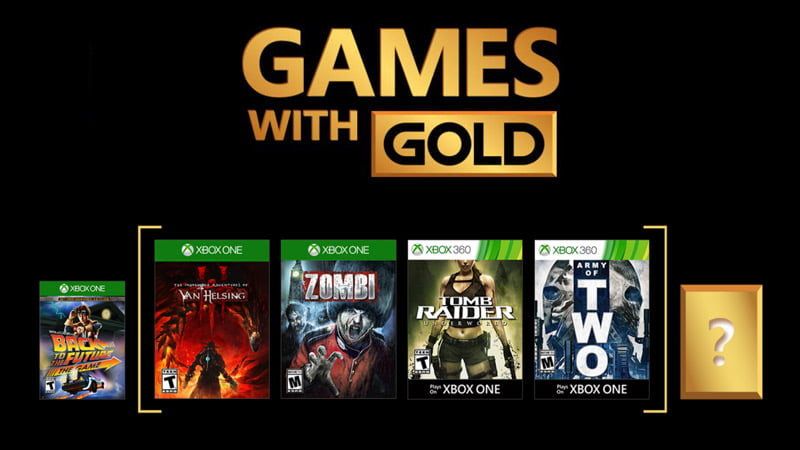 Xbox Games with Gold for January 2018