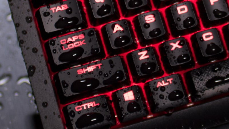 Corsair K68 IP32 mechanical keyboard