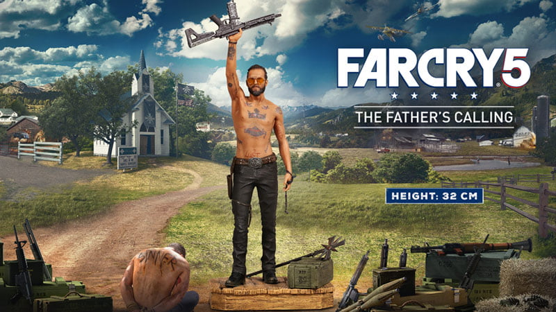 Far Cry 4 Joseph Seed figurine