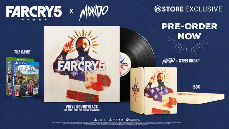 Limited edition Far Cry 5 x Mondo Edition