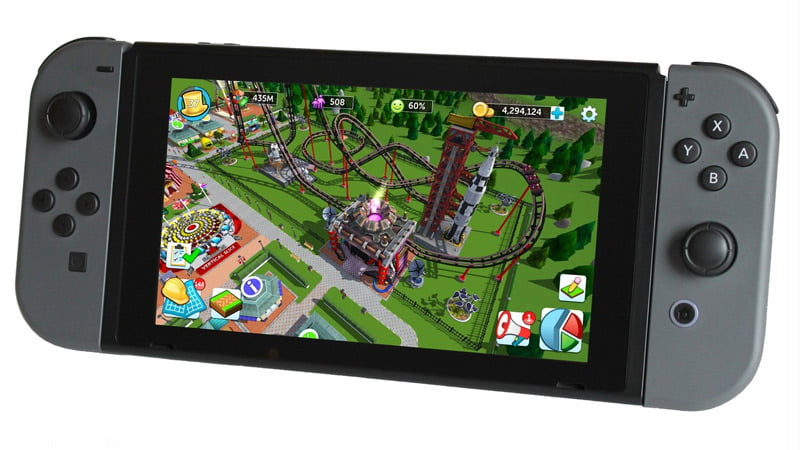RollerCoaster Tycoon - Nintendo Switch