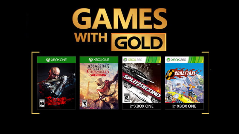 Xbox Games with Gold - February 2018