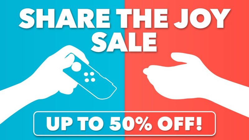 Nintendo eShop 'Share the Joy' sale