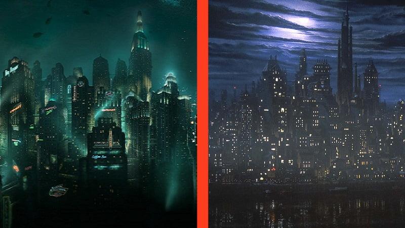 Cut Scenes: BioShock vs. Batman