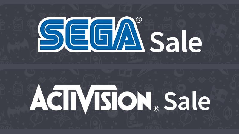 Humble Sega and Activision sales