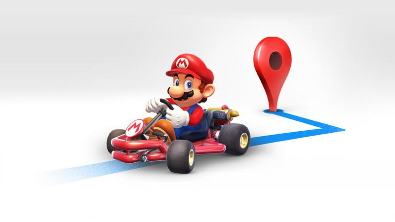 Mario Day - Google Map