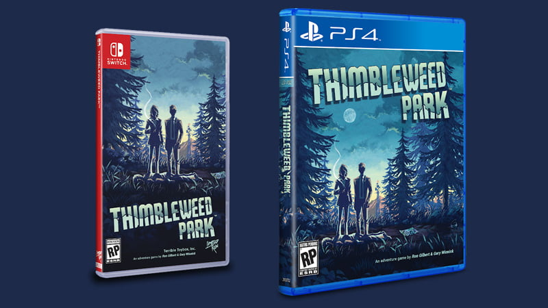 Thimbleweed Park - physical release