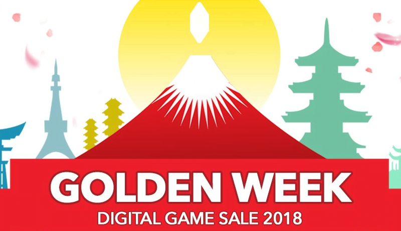 Square Enix Golden Week sale