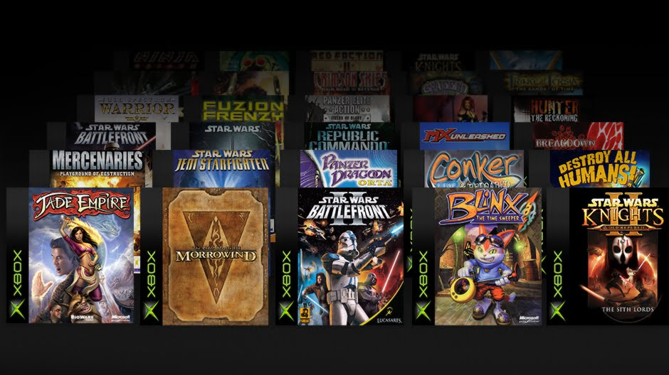Backwards-compatible original xbox games appear online | trusted.