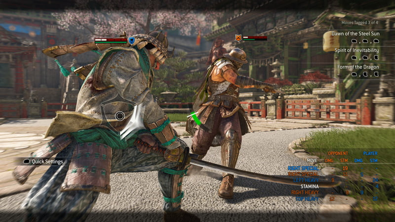 For Honor Training Mode