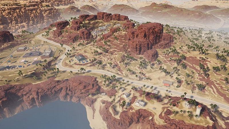 Miramar desert map - PUBG Mobile
