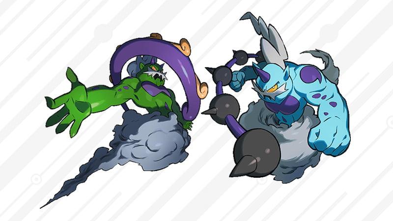 Pokemon Thundurus and Tornadus