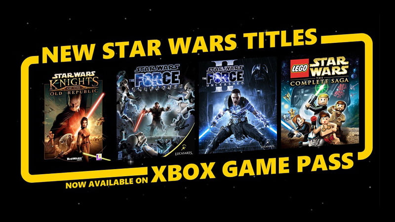 Star Wars Xbox Game Pass