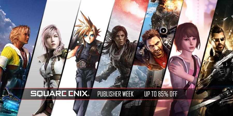humble square enix publisher week sale