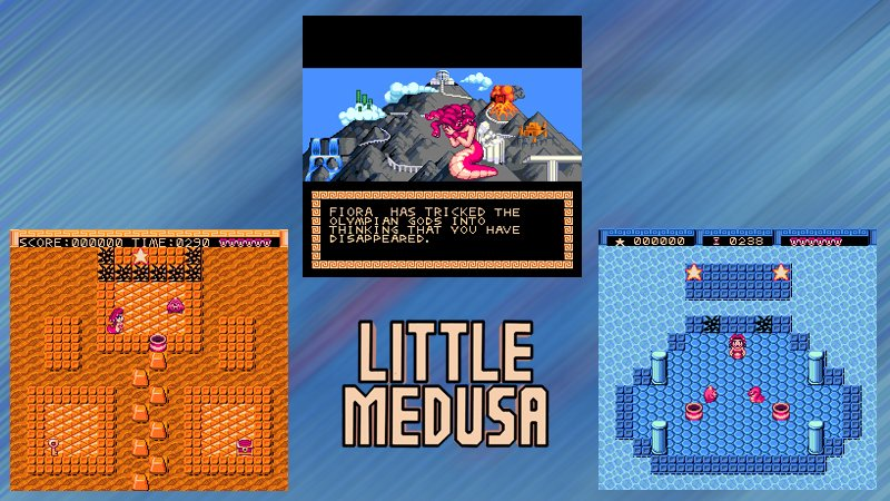 Little Medusa is out now, on SNES and Sega Genesis