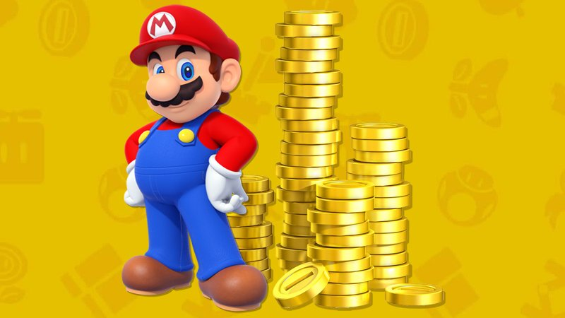 Nintendo - Mario coins