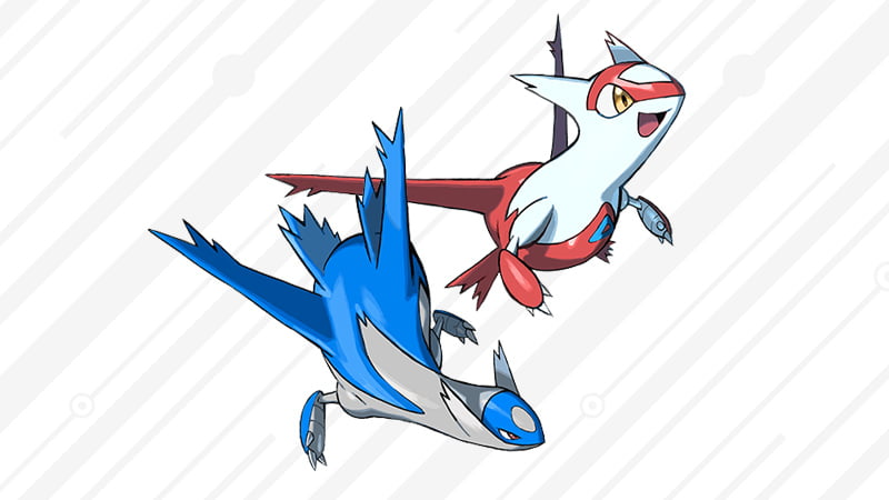 Legendary Pokémon Latias and Latios