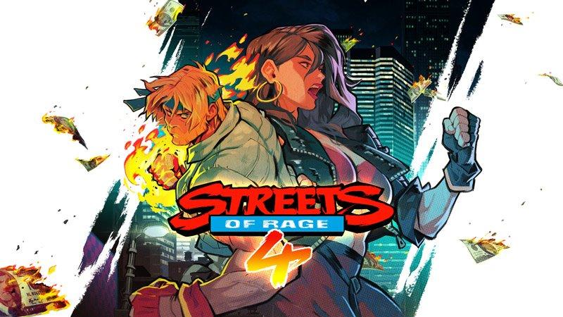 Streets of Rage 4 art