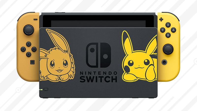 Pokémon Let's Go Pikachu! Nintendo Switch bundle
