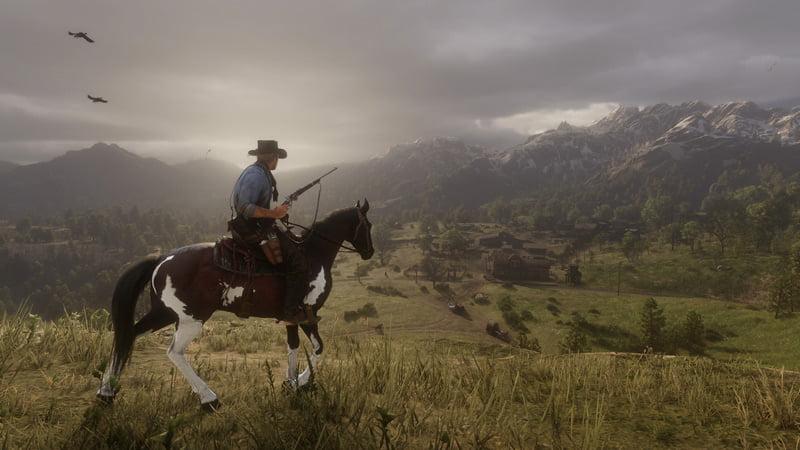 Red Dead Redemption 2 gameplay