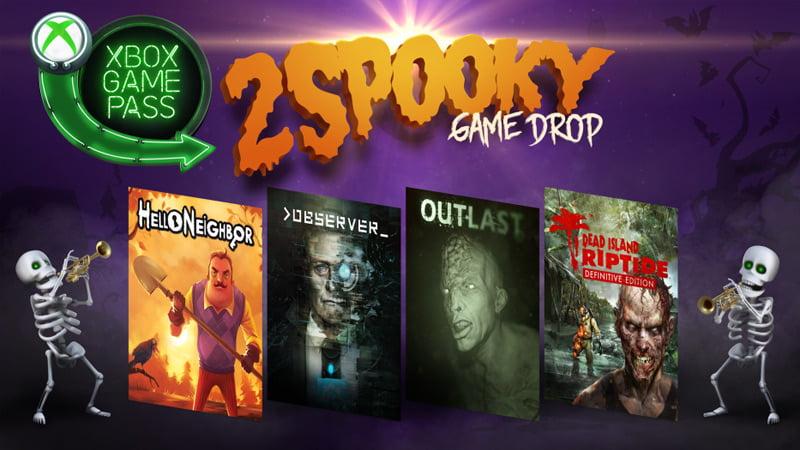 Xbox Game Pass - Halloween