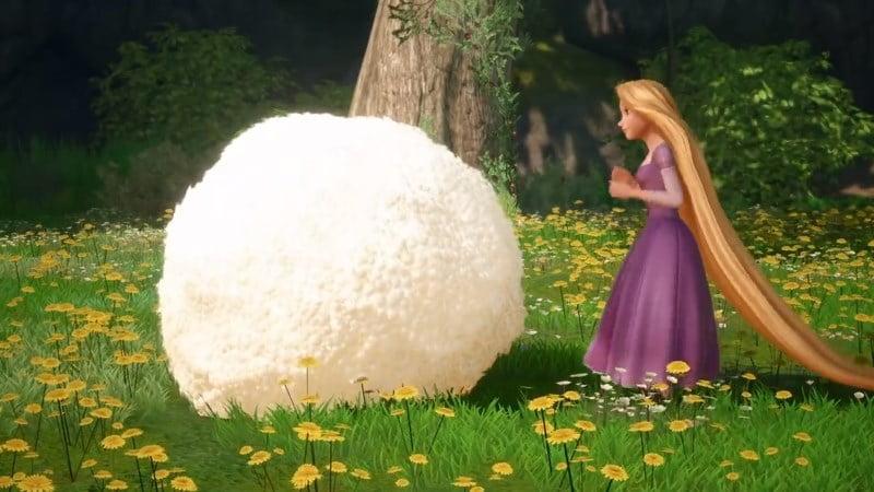 Kingdom Hearts III Rapunzel Tangled