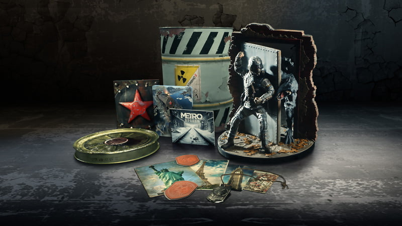 Metro Exodus Spartan Collector's Edition contents